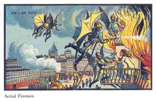 Πώς πιστευαν το 1900 ότι θα είμασταν σήμερα